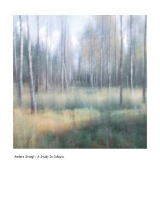 A Study In Colours - Volume Eleven