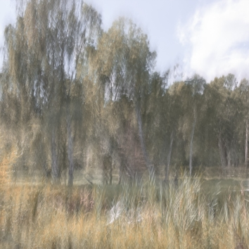 Sweden July 2018 Impressionist landscape photography utilizing intentional camera movement. Copyright © Anders Stangl Photography
