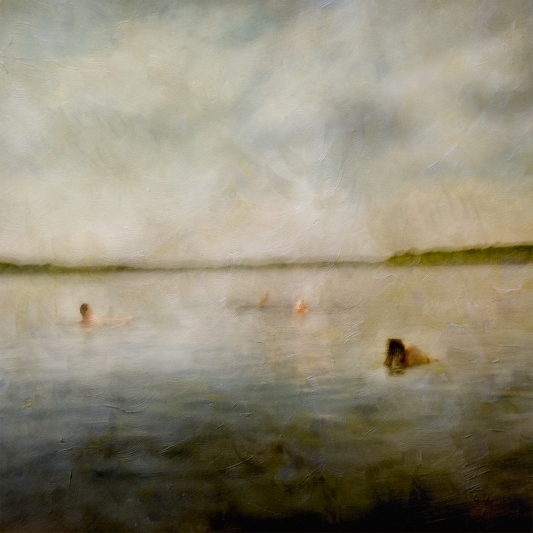 Impressionistic summer scene by a lake. Volume 44 in this series