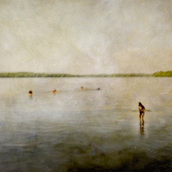 Impressionistic summer scene by a lake. Volume 43 in this series