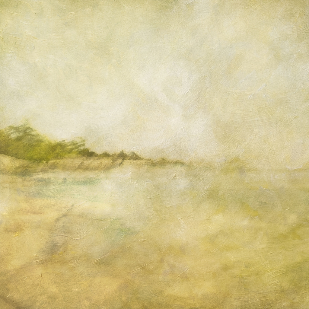 Impressionistic spring scene .Single intentional camera movement exposure and texture layers. Volume 29 in this series.