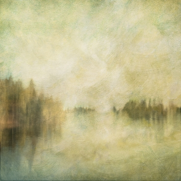 Impressionistic spring scene . Single intentional camera movement exposure and texture layers. Volume 27 in this series.