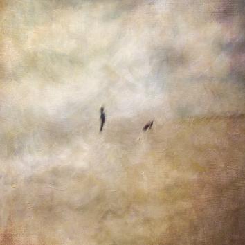 Impressionist scene, woman with a dog. Volume 57