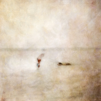 Impressionist scene, woman with a dog. Volume 49 in this series