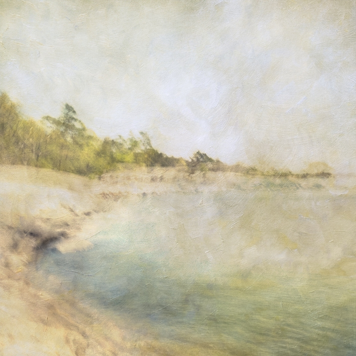 Impressionist scene by the coastline. Volume 35 in this series