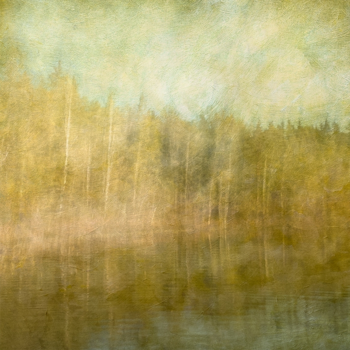 Impressionist scene by a lake. Volume 34 in this series