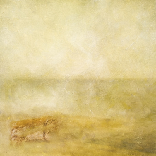 Impressionist abstract scene by the coastline. Volume 33 in this series