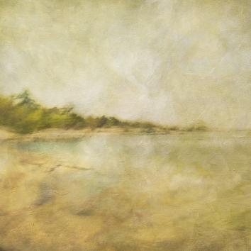 Impressionist scene by the coastline. Volume 32 in this series