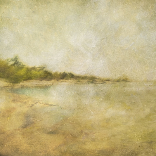Impressionist scene by the coastline. Volume 32 in this series
