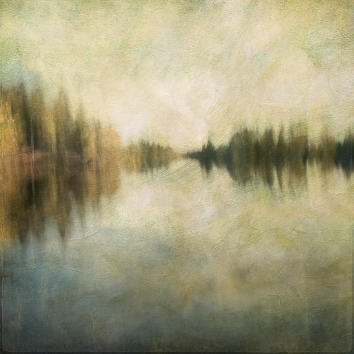Impressionist scene by a lake. Volume 31 in this series