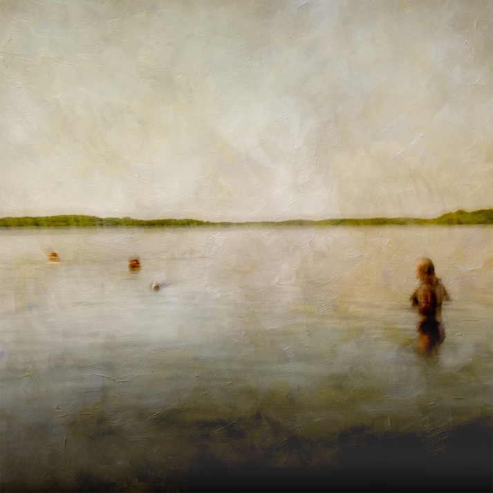 Impressionistic summer scene by a lake. Volume 45 in this series